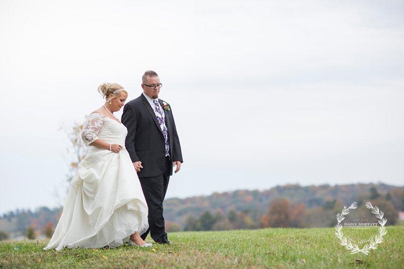 Best Chattanooga Wedding Photographer Omega Center Fall